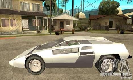 Dome Zero para GTA San Andreas esquerda vista