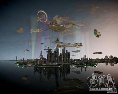 Stargate Atlantis para GTA 4 segundo screenshot