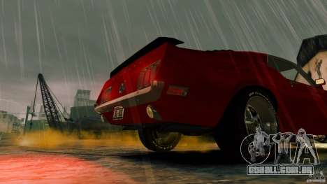 Ford Mustang BOSS 429 para GTA 4 vista direita