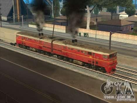 2te10v-4833 para GTA San Andreas vista traseira