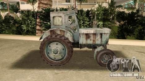 Trator t-40 para GTA Vice City deixou vista