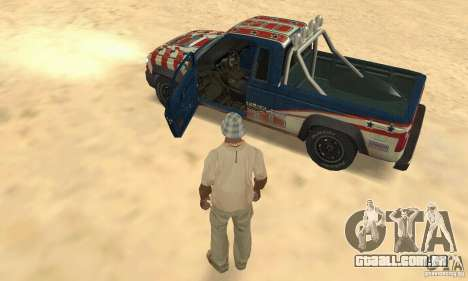 Nevada v1.0 FlatOut 2 para GTA San Andreas vista traseira