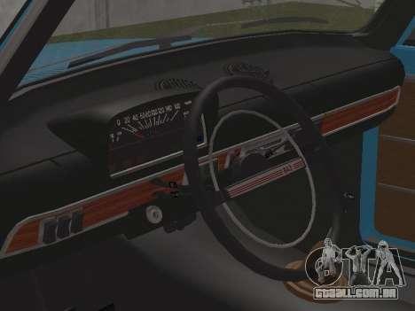 VAZ 2101 para GTA San Andreas vista interior