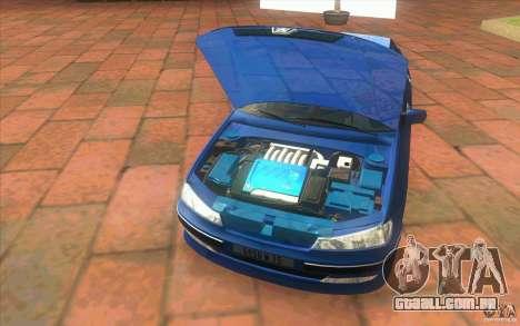 Peugeot 406 1.9 HDi para GTA San Andreas vista interior