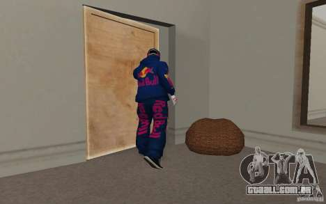 Red Bull Clothes v2.0 para GTA San Andreas sétima tela