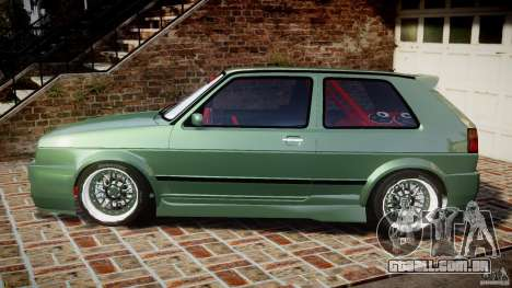 Volkswagen Golf II W8 para GTA 4 esquerda vista