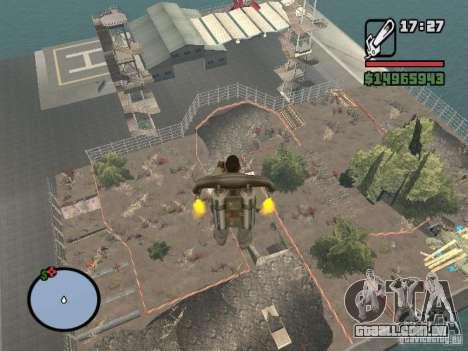 Off-Road v 2.0 de rota para GTA San Andreas oitavo tela