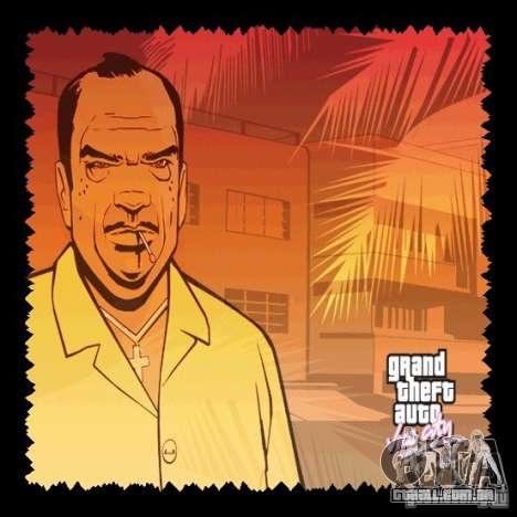 A nova tela de Boot, HD para GTA Vice City segunda tela