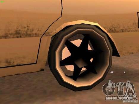 New Perennial para GTA San Andreas vista traseira