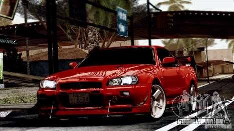 ENB By Wondo para GTA San Andreas