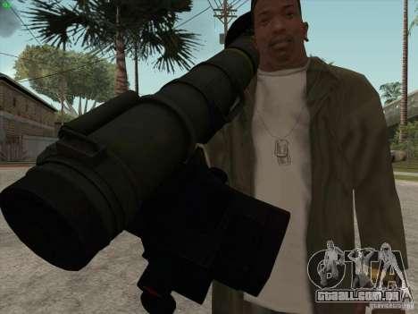 Javelin para GTA San Andreas por diante tela