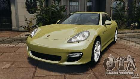 Porsche Panamera Turbo 2010 para GTA 4