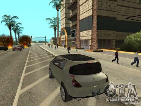 Renault Avantime para GTA San Andreas esquerda vista