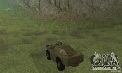 BRDM-1 pele 4 para GTA San Andreas vista direita
