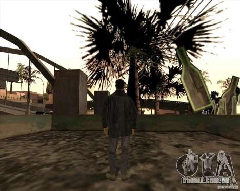 Estrias brancas para GTA San Andreas por diante tela