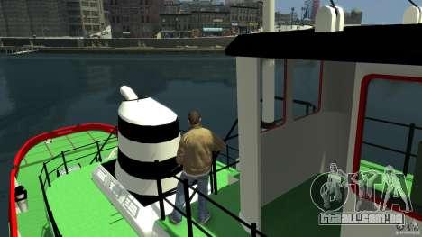 TUG Texture and Handling para GTA 4 vista de volta