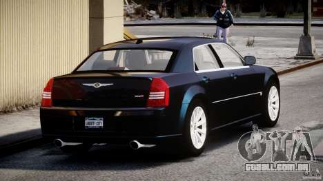Chrysler 300C SRT8 para GTA 4 vista lateral