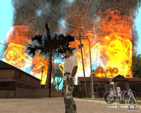 Tornado para GTA San Andreas quinto tela