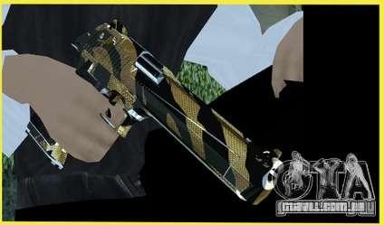 Tiger Weapon Pack para GTA San Andreas segunda tela