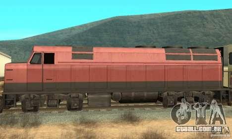 New Streak Skin para GTA San Andreas esquerda vista