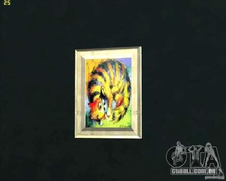 Pinturas da casa CJ para GTA San Andreas terceira tela