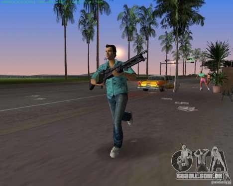 O novo M-60 para GTA Vice City quinto tela