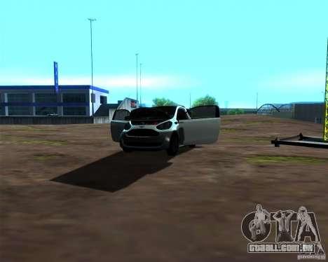 Aston Martin Cygnet para vista lateral GTA San Andreas