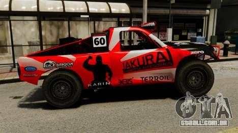 Toyota Tundra Karin Sahara v3.0 para GTA 4 esquerda vista