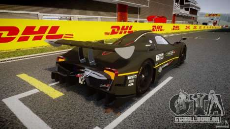 Pagani Zonda R 2009 para GTA 4 vista lateral