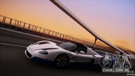 Maserati MC12 V1.0 para vista lateral GTA San Andreas