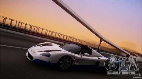 Maserati MC12 V1.0 para vista lateral GTA San Andreas
