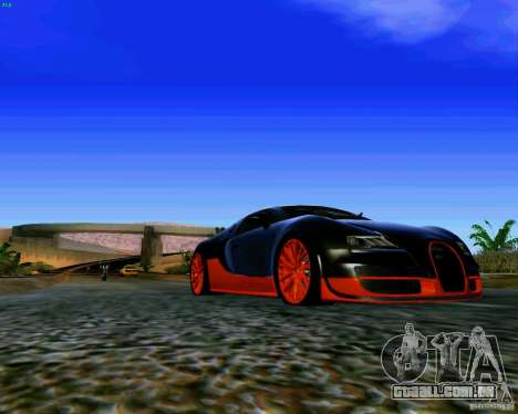 ENBSeries by S.T.A.L.K.E.R para GTA San Andreas por diante tela