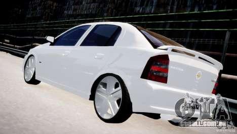 Chevrolet Astra Advantage 2009 para GTA 4 traseira esquerda vista