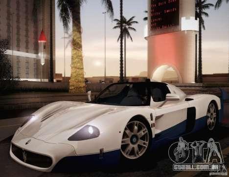 Maserati MC12 V1.0 para GTA San Andreas