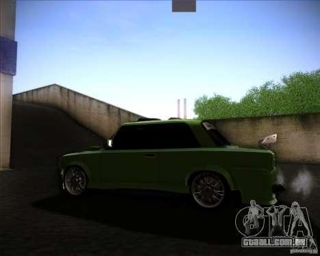 VAZ 2101 para GTA San Andreas esquerda vista