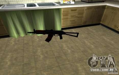AK-74U para GTA San Andreas segunda tela