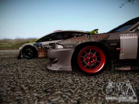 Nissan Silvia S14 Hell para GTA San Andreas vista interior