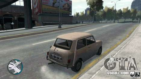 Mini Cooper S para GTA 4 esquerda vista