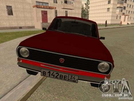 Volga GAZ 24-10 para GTA San Andreas esquerda vista