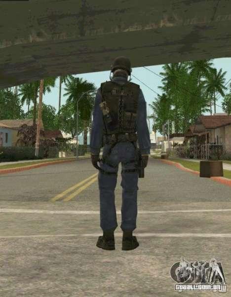 Counter-terrorist para GTA San Andreas terceira tela