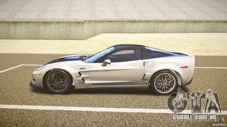 Chevrolet Corvette ZR1 2009 para GTA 4 esquerda vista