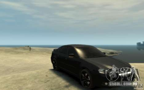 Subaru Legacy B4 specB 3.0 R para GTA 4 vista de volta