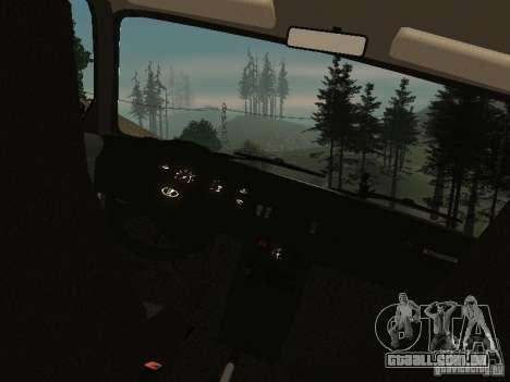 VAZ-2107 v 1.1 para GTA San Andreas vista direita
