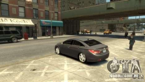 Hyundai Sonata para GTA 4 esquerda vista