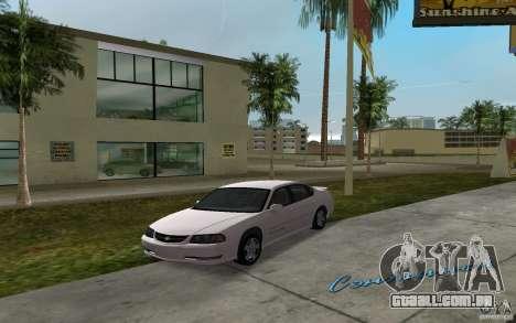 Chevrolet Impala SS 2003 para GTA Vice City vista traseira esquerda
