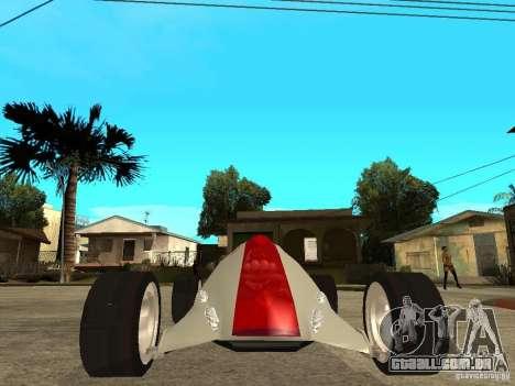 Nike One para GTA San Andreas vista direita