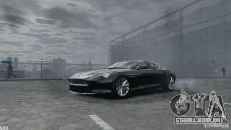 Aston Martin Virage 2012 v1.0 para GTA 4 vista inferior