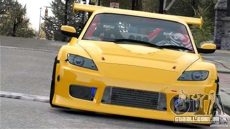 Mazda RX-8 Mad Mike para GTA 4 vista direita
