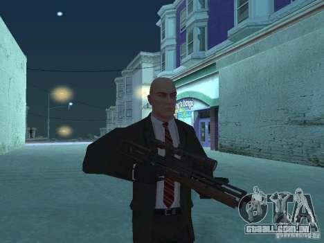 WALTHER 2000 HD para GTA San Andreas terceira tela