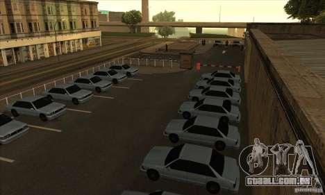 Renovação de condução escolas em San Fierro para GTA San Andreas segunda tela
